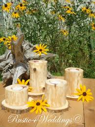 Wedding Candle Holders Centerpieces by Church House Collection Blog Cedar Wedding Candle Holders For