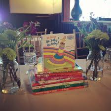 library book theme baby shower dr seuss centerpiece baby shower