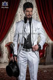 costume mariage blanc italienne sur mesure mariage blanc costume de style 1275 on gala