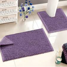 Luxury Bathroom Rugs Stunning Purple Bathroom Set Contemporary Home Design Ideas
