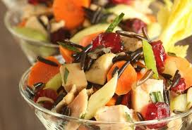Salad Thanksgiving Thanksgiving Recipes Wild Rice U0026 Cranberry Salad With Candied