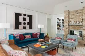 Mid Century Modern Area Rugs by Dp Kerrie Kelly Neutral Midcentury Modern Living Room H Rend