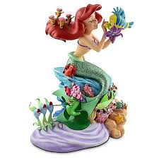 your wdw store disney medium figure statue ariel and friends