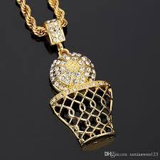 silver heart necklace wholesale images Wholesale pendant necklace basketball rims pendants necklaces jpg
