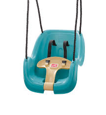 baby swing swing set com step2 infant to toddler swing seat turquoise toys