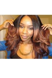 ombre weave ombre hair weave color1b 30 wave human hair 3 bundles