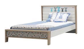 4ft Bed Frame Newjoy Blue Bunny Small 4ft Children S Bed Frame Padded