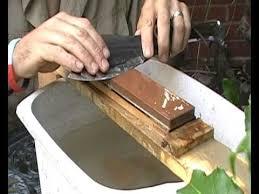 sharpening japanese kitchen knives knife sharpening with king japanese water stones