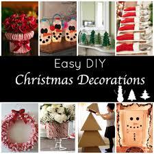 homemade christmas decorations pinterest
