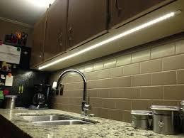 led lights for kitchen cabinets hardwired vs in cabinet led lighting