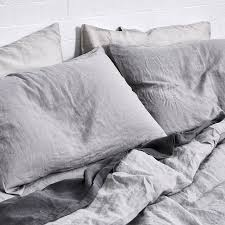shop for linen bedding online in bed store
