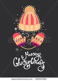collection vector christmas greeting cards set stock vector