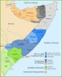 Regions Of Africa Map by States And Regions Map Of Somalia