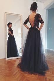 dress tulle skirt lace dress formal black dress prom dress