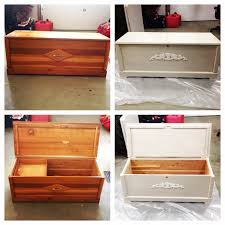 repurpose upcycle restore cedar chest i found at the restore for