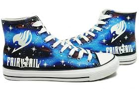 amazon com fairy tail anime logo cosplay shoes canvas shoes hand