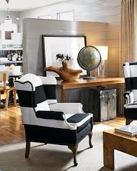 Best  Striped Chair Ideas On Pinterest Black And White Chair - Black living room chairs
