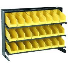 Yellow Metal Storage Cabinet Storage Bins Double Shift Metal Bin Storage Cabinet Bolt Nut