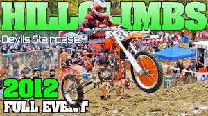 motocross drag racing full event devils staircase pro hill climb 2012 dirt drag racing