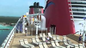 disney dream deck 11 and 12 tour disney cruise line with view of