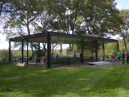 philip johnson glass house floor plan architecture haammss