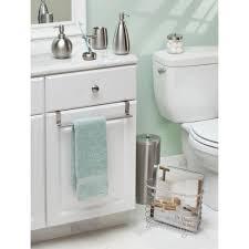 Amazon Bathroom Furniture by Amazon Com Interdesign Forma Over The Cabinet Bathroom Hand Towel