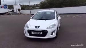peugeot white peugeot 308 hdi active white 2012 youtube