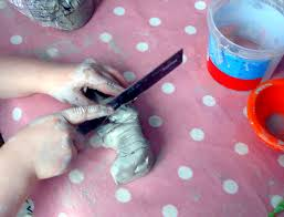 clay elmer craft activity for kids