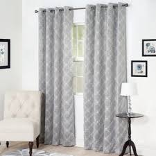 Lattice Design Curtains Lattice Print Curtains Wayfair