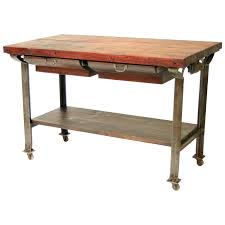 ultimate butcher block kitchen work table cute interior design