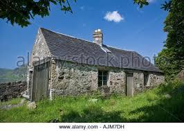 Barn Cottage Mull Mull Scotland Carsaig Stock Photos U0026 Mull Scotland Carsaig Stock