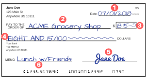 see how to write a check u2014step by step explanation