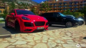 porsche cayenne matte red porsche cayenne techart magnum 2015 4 august 2016 autogespot