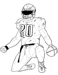 football players coloring pages funycoloring