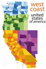 map of usa west coast the west coast clipart clipground