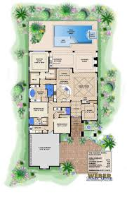 pool house plans with courtyard courtyards pinterest spanish house plans mediterranean style greatroom courtyard ma tropical house plans with courtyards house plan large