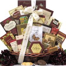 high end gift baskets express your with this upscale sympathy gift basket filled