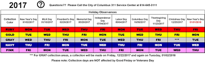 rotating color calendar