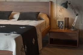 walnut bedroom furniture walnut black lotus natural bed company