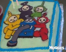 teletubbies huggies birthday cake gallery huggies