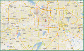 Dallas Map by 24 Hour Electricians Commercial Electricians Texas