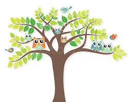 woodland trees clipart 48