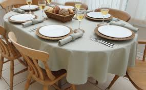 cotton collection oval the tablecloth company