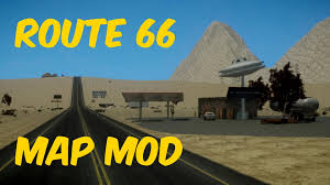 Historic Route 66 Map by Gta Iv