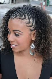 cornrow hairstyles for black women with part in the middle braided side hairstyles for black women black women braided side