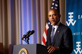 president obama visits the east west center aug 31