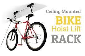 Bicycle Ceiling Hoist ceiling mounted bike hoist lift roof rack u2013 direct on sale