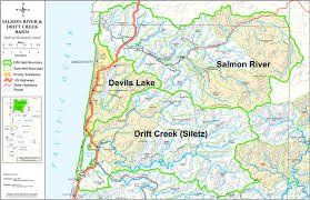 Lincoln City Map Salmon Drift Creek Watershed Council