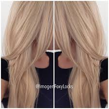 what do lowlights do for blonde hair new hair colour latte blonde had some lowlights added cut color