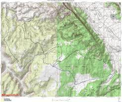 Buckeye Trail Map Boar Offroad Utah South East